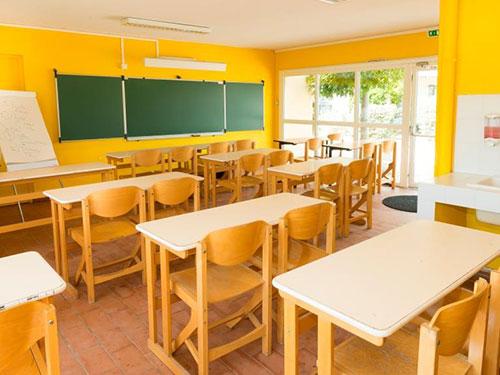 classe découverte multimédia marseille ile du frioul - salle de classe