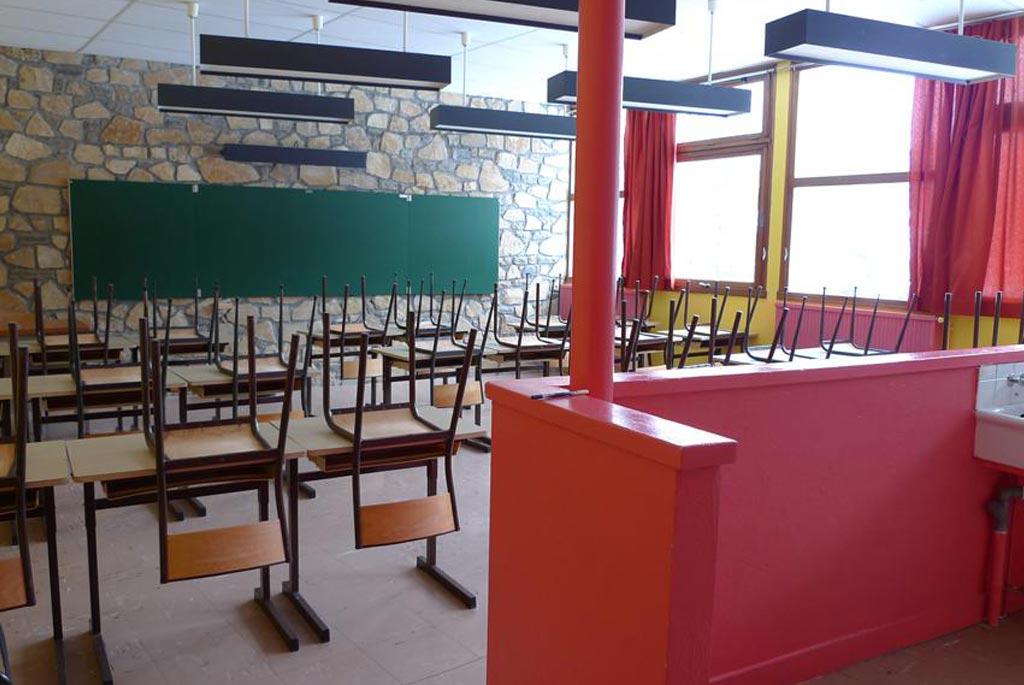 classe découverte audiovisuelle - salle de classe
