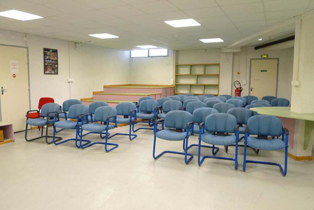 classe découverte audiovisuelle - salle de projection vidéo