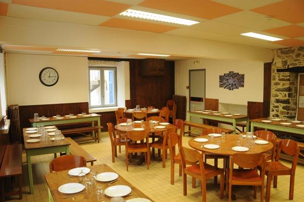 classe découverte audiovisuelle dans les Hautes Alpes - restaurant 02
