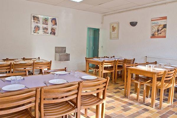 classe découverte en provence - le centre restaurant