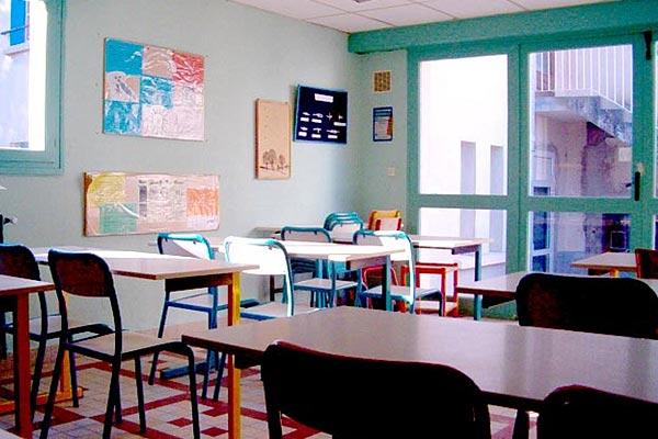 classe découverte artistique - salle de classe