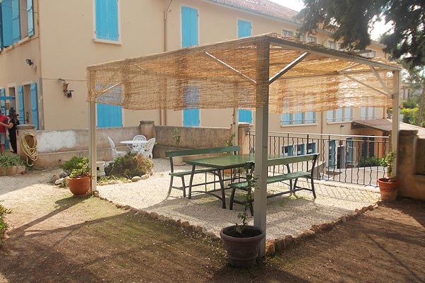 classe découverte artistique - la terrasse