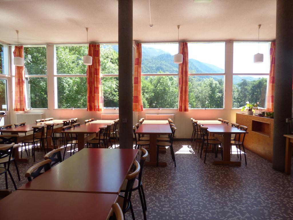 classe découverte audiovisuelle - le restaurant