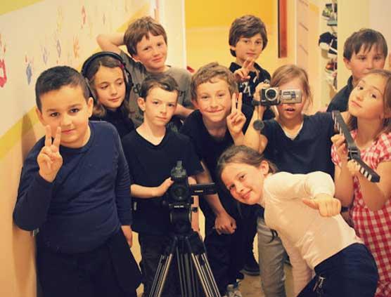 atelier cinéma enfant groupe