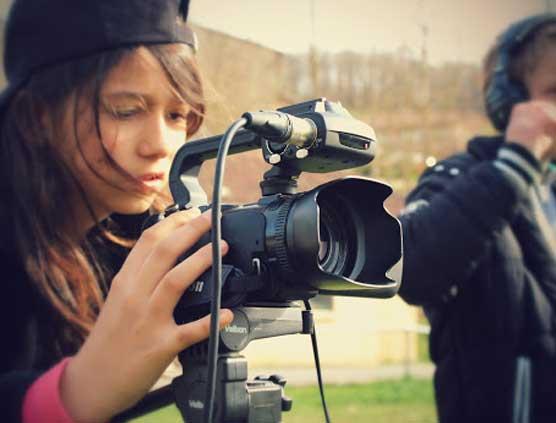 atelier cinéma enfant camera