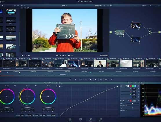 atelier cinéma enfant montage video post production